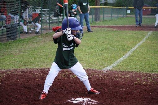 Baseball, Little League, Children, Kids