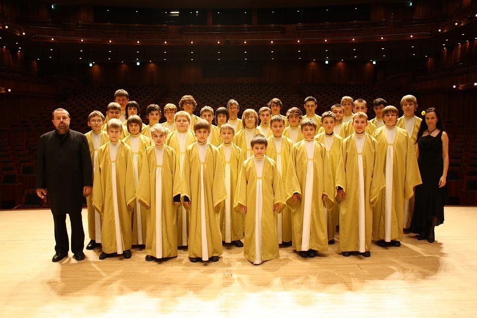 Czech Republic, Pueri Boys Choir, Famous, Know, Stage