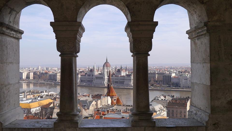 Látkép, Budapest, Parlament