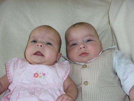 Twins, Babies, Siblings, Infants