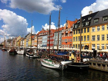 Copenhagen, Denmark, City, Scandinavian