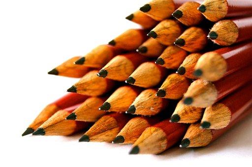 School Pen Great Pointed Write Pencil Wood