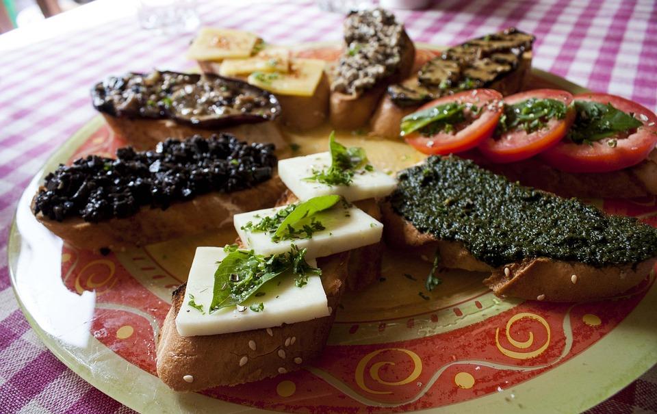 Italian, Food, Bread, Dinner, Healthy, Meal, Cuisine