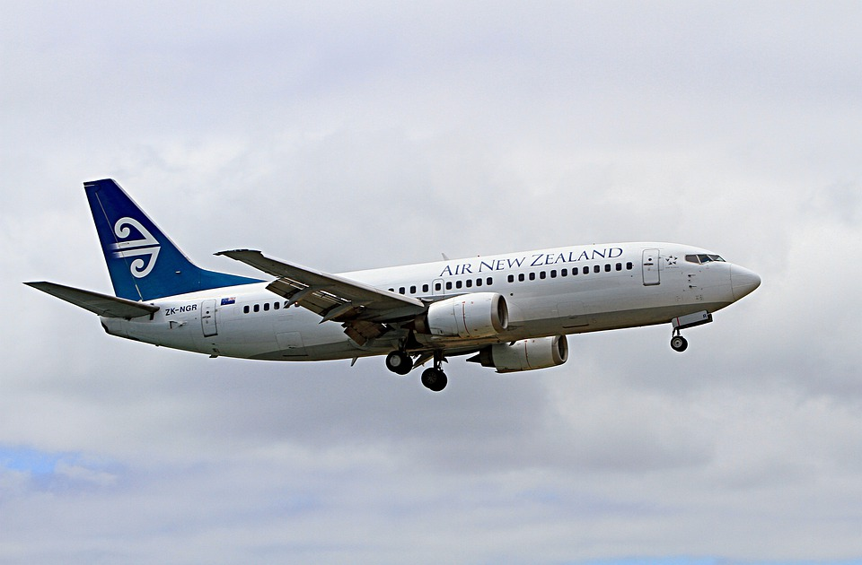 Aeroplane Airplane Boeing 737 Air New Zealand