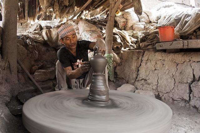 clay work bhaktapur  u00b7 free photo on pixabay