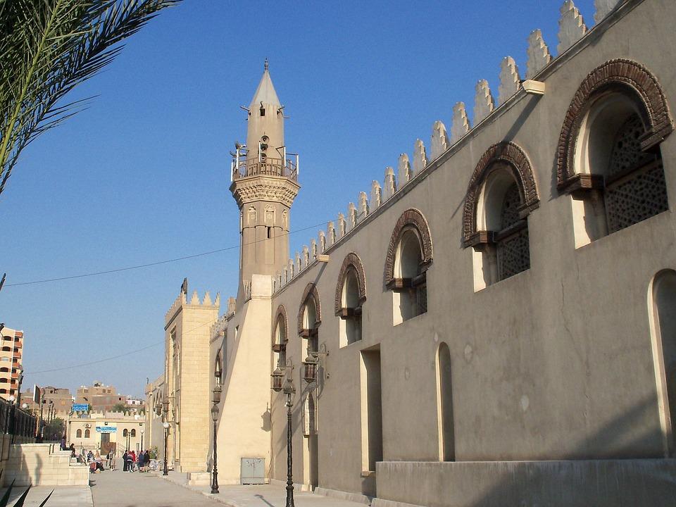 Каир, Египет, Зданий, Структуры, Архитектуры, Люди