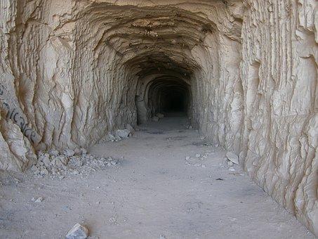Grotta, Galleria, Metropolitana