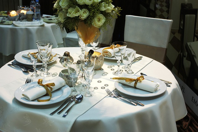 Free Photo Dining Table Table Cutlery Image On