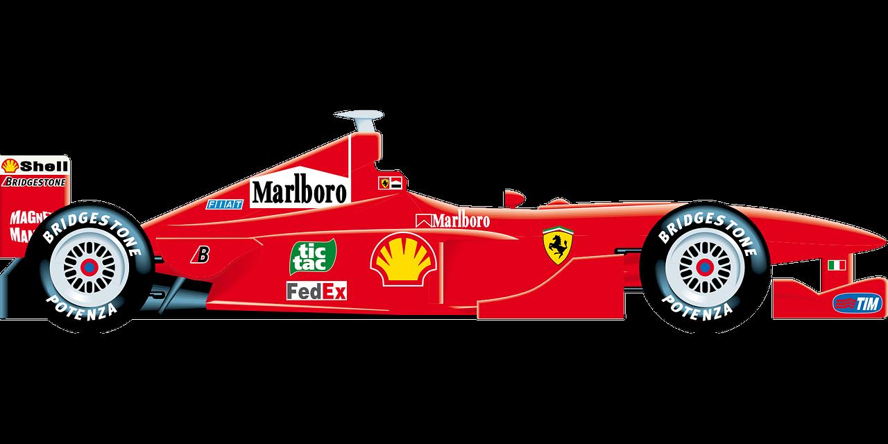 Ferrari F1 Formula 1 Motor Free Vector Graphic On Pixabay