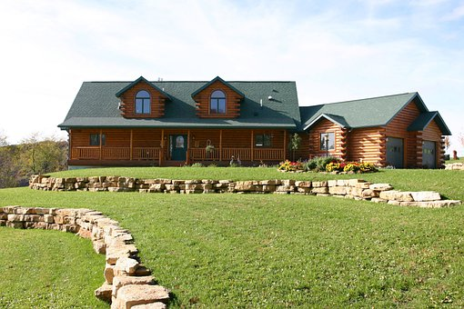 Log House Cabin Cottage Rustic T