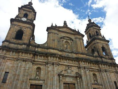 Bolivar Park, Bogotá, Colombia, Church