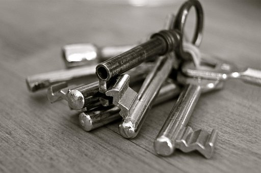 Key, Metal, House, Security, Wedding