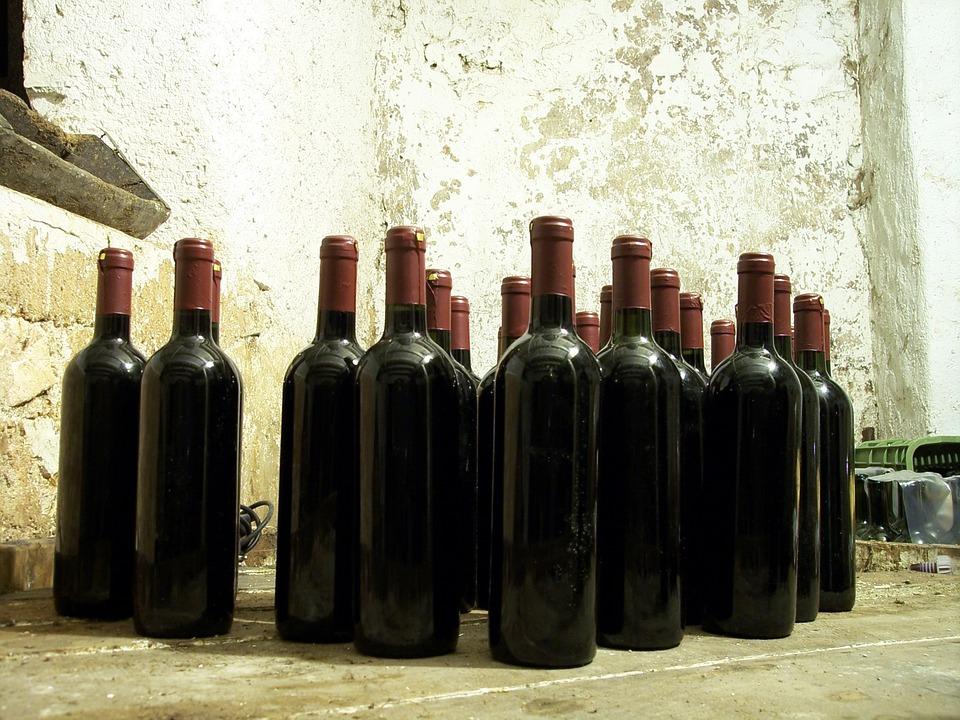 Bottle, Cell, Cellar, Bottles, Wine, Bottles Of Wine