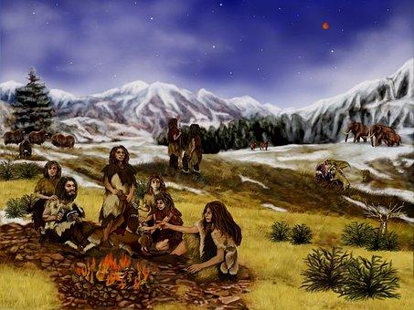 Neanderthals, Prehistoric, Mountains