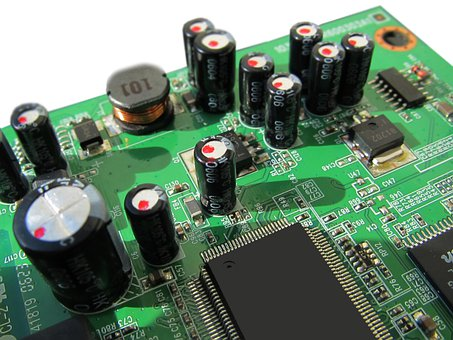 Board Circuits Control Center Technol