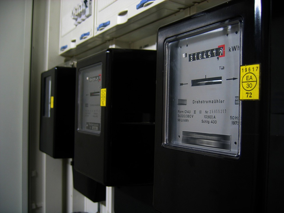 Electricity Meter, Current, Pay, Energy, Power Line