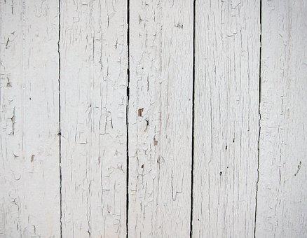 Wood, Background, White