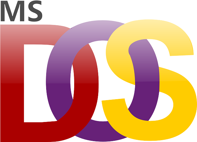 free vector graphic: microsoft, dos, ms, logo - free image on