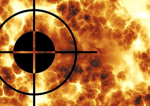 十字, バイザー, フォーカル ポイント, センター, 中間, 情報, 問題