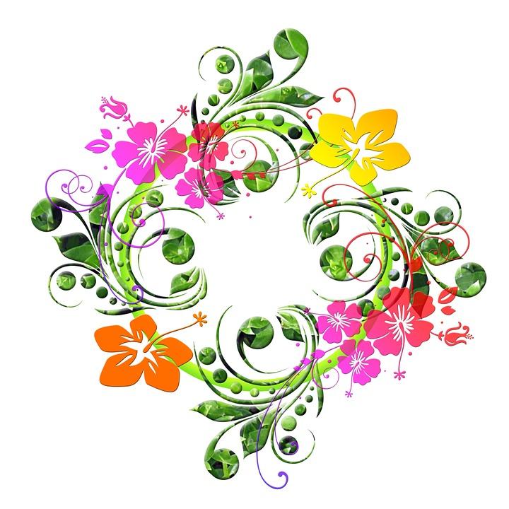 Flowers floral design flora free image on pixabay - Image fleur dessin ...
