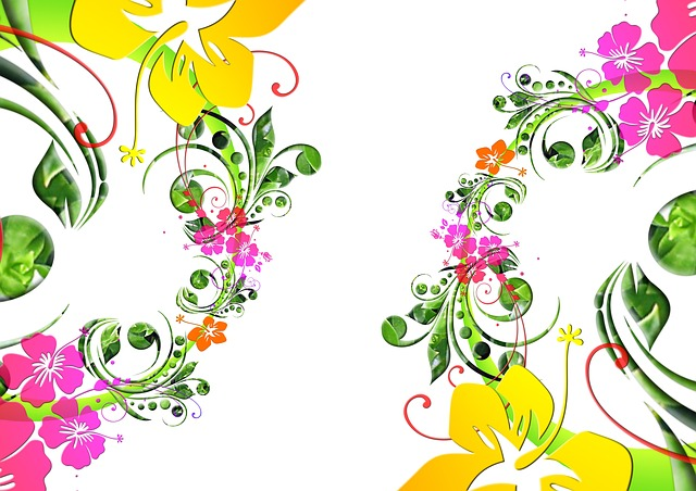 Fleurs dessin floral flora image gratuite sur pixabay - Dessin fleurs printemps ...
