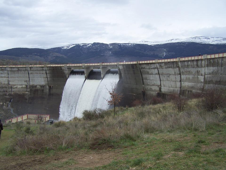 セゴビア, ダム, ポンツーン, 余水吐について, 土木工事, エンジニア リング