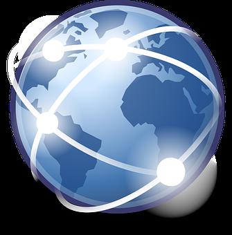 ブラウザー, インターネット, Wwwの, グローバル, 国際, 地球