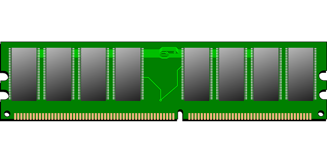 Free Vector Graphic Ram Memory Computer Chips Icon
