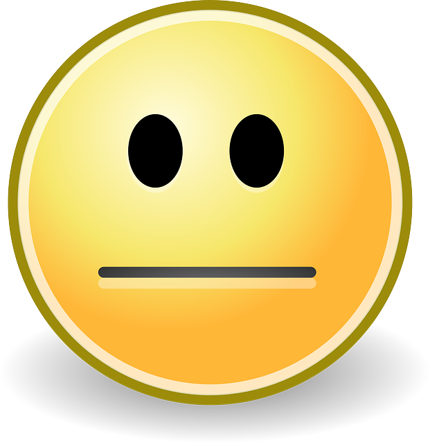 Free Vector Graphic: Plain, Dull, Blank, Smiley, Yellow