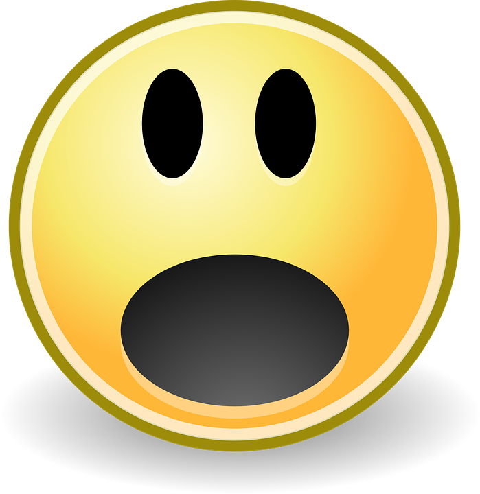 Free Vector Graphic Surprise Smiley Oh Fear Scare