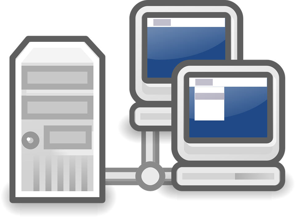 Server Network Workstations - Free vector graphic on Pixabay