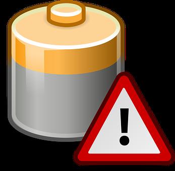 Battery, Warning, Low Energy, Energy