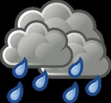 Déšť, Heavy Rain, Zakalený, Deštivá