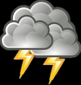 Ukkonen, Salama, Sade, Sää, Myrsky