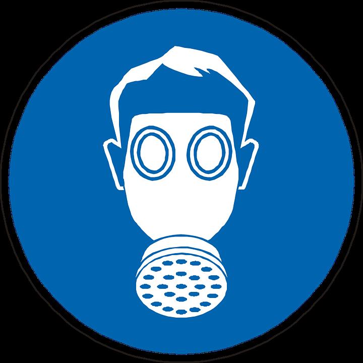 Gas Mask Mandatory Wear Free Vector Graphic On Pixabay
