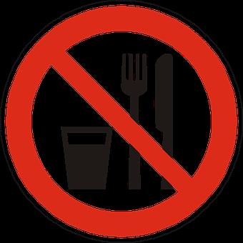 Eat, Drink, Prohibited, Forbidden