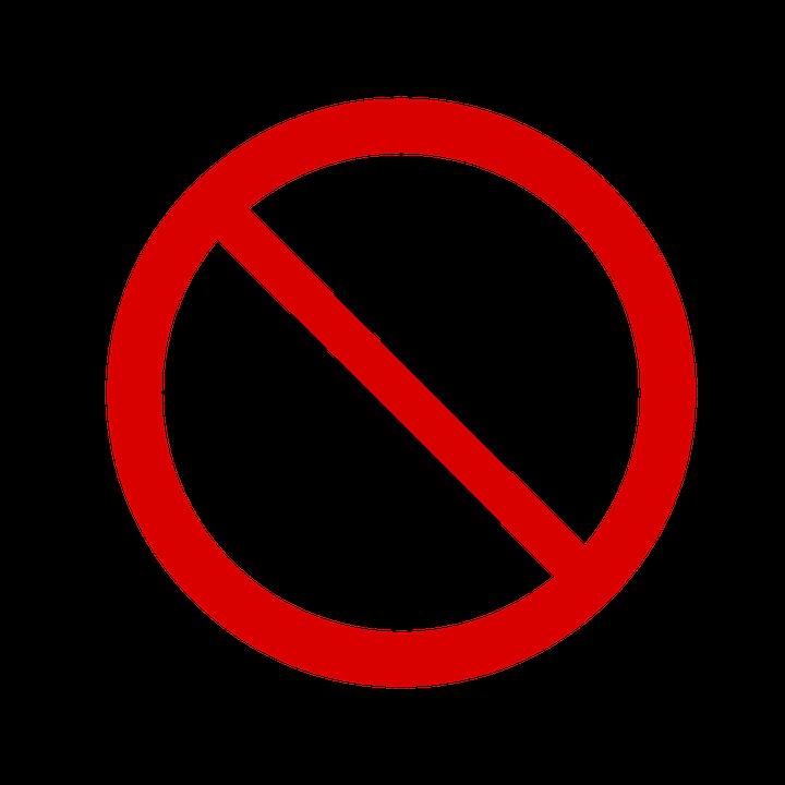 kein einlass ber hren sie nicht kostenlose vektorgrafik auf pixabay. Black Bedroom Furniture Sets. Home Design Ideas