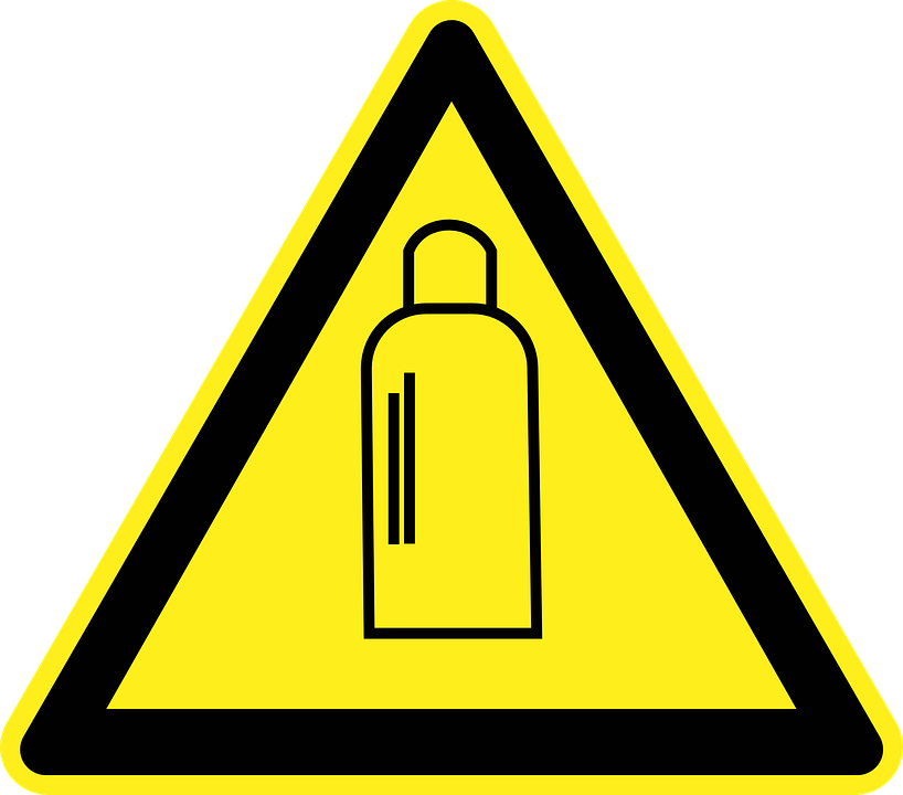high pressure warning