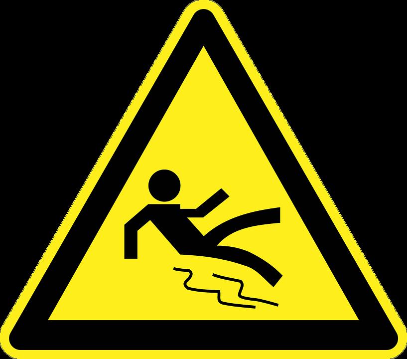 Scivoloso Pavimento Bagnato · Grafica vettoriale gratuita su Pixabay