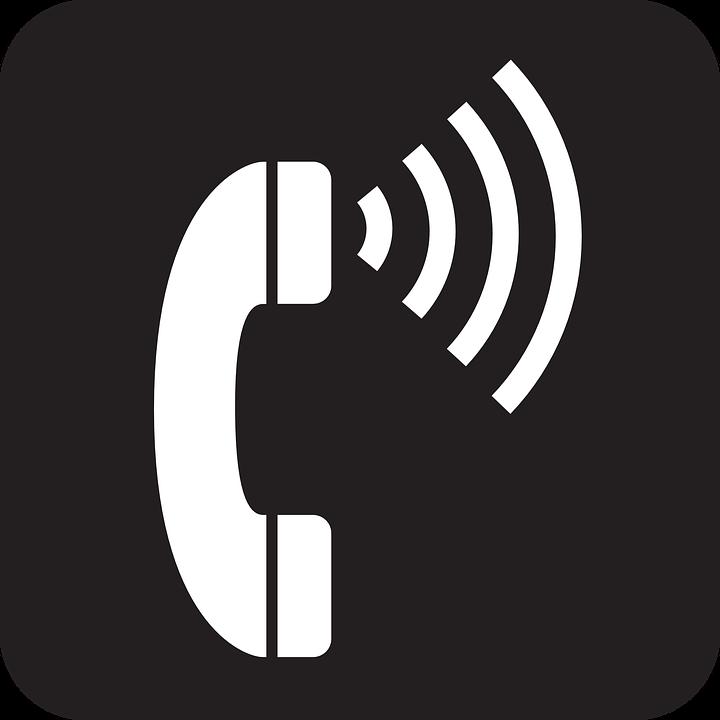 Imagem vetorial gratis telefone comunica o s mbolo for Free drawing websites no download