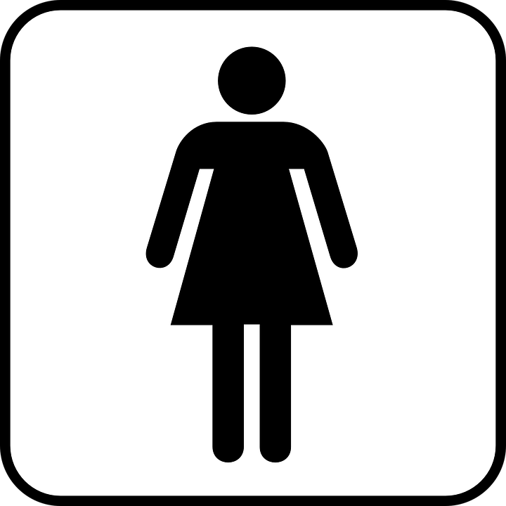 Woman Women Wc Toilet Sign Symbol Icon