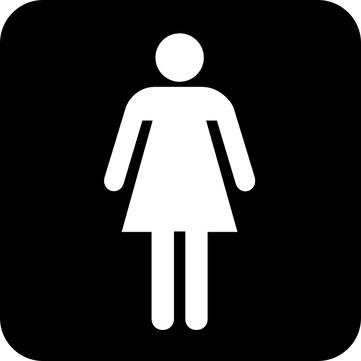 Woman  Women  Wc  Toilet  Black  Sign. Toilet  Sign   Free images on Pixabay