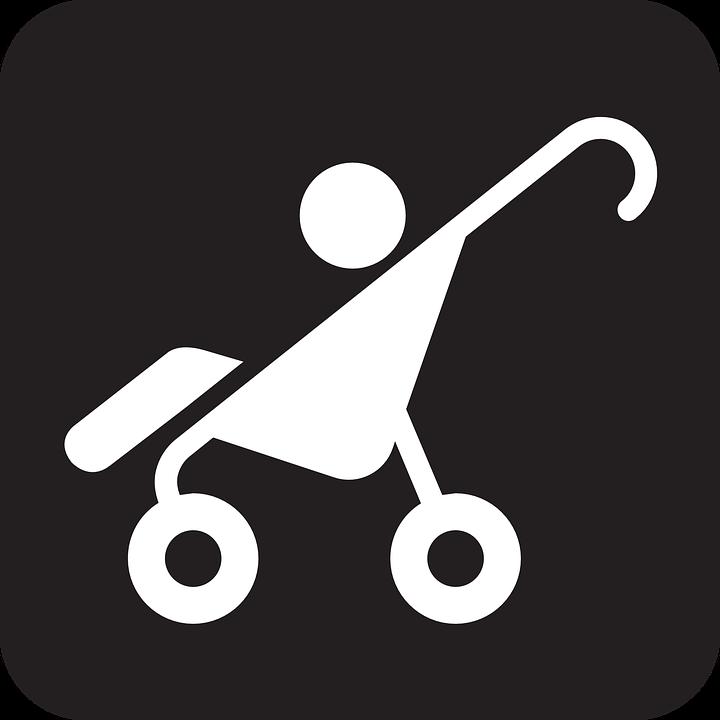 Afbeeldingsresultaat voor kinderwagen symbool