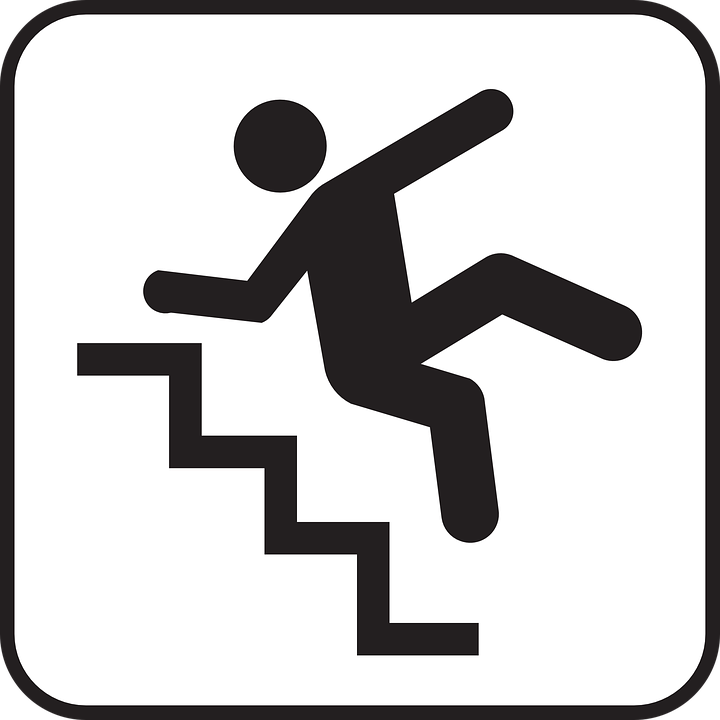 falling tripping down free vector graphic on pixabay