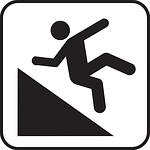 falling, man