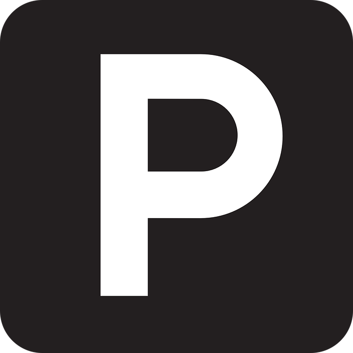Parking P Alphabet · Free vector graphic on Pixabay