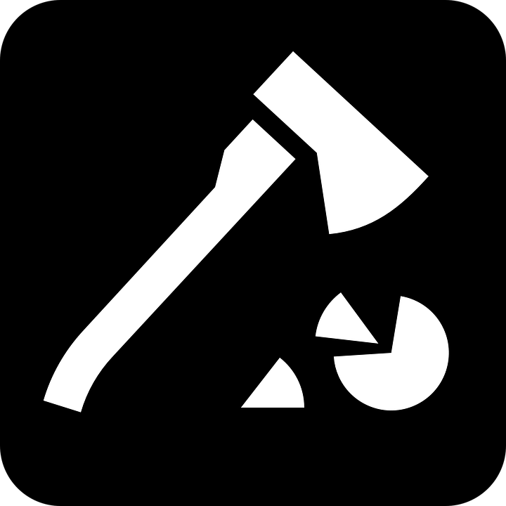 Ax Axe Hatchet Cut Into Free Vector Graphic On Pixabay