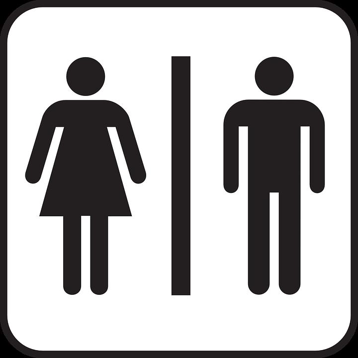 Image vectorielle gratuite Toilettes, Toilettes Publiques  Image gratuite s -> Clipart Banheiro Feminino