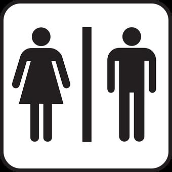 Restroom, Public Restroom, Rest Room