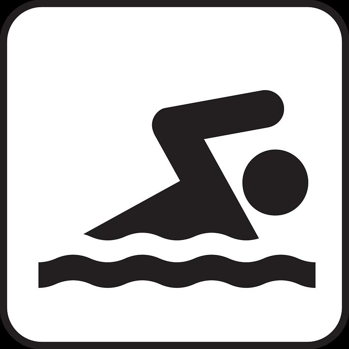 image vectorielle gratuite natation  sports  sanitaire swimming clip art images swimming clip art kid